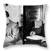 Booker T Throw Pillow