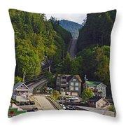 Ketchikan Alaska Throw Pillow