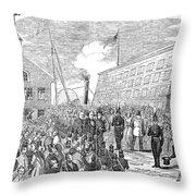 Millard Fillmore (1800-1874) Throw Pillow