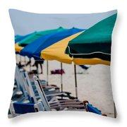 Myrtle Beach South Carolina Throw Pillow