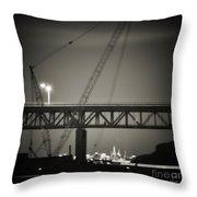 Tappan Zee Bridge Throw Pillow