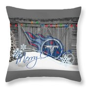 Tennessee Titans Throw Pillow