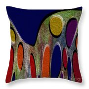 1404 Abstract Thought Throw Pillow