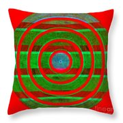 1407 Abstract Thought Throw Pillow