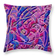 1412 Abstract Thought Throw Pillow
