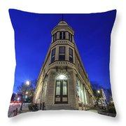 1417 Underwood Ave Throw Pillow
