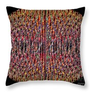 1458 Abstract Thought Throw Pillow