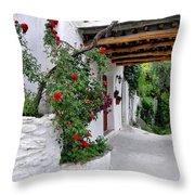 Alpujarras In Granada Throw Pillow