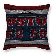 Boston Red Sox Throw Pillow