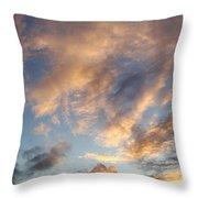 Bright Sky  Throw Pillow