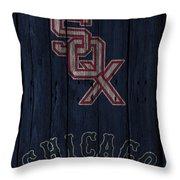 Chicago White Sox Throw Pillow