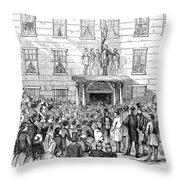 Daniel Webster (1782-1852) Throw Pillow