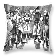 Edward Vii (1841-1910) Throw Pillow