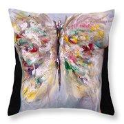 15. Judy Robkin, Artist, 2015 Throw Pillow