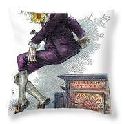 Oscar Wilde (1854-1900) Throw Pillow