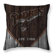 San Diego Padres Throw Pillow