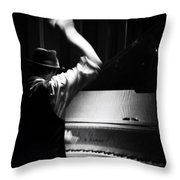 The Hot Sardines Throw Pillow