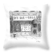 New Yorker November 14th, 2016 Throw Pillow