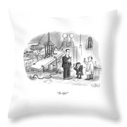 To Life! Throw Pillow
