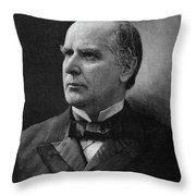 William Mckinley (1843-1901) Throw Pillow