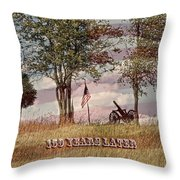 150 Years Later  Throw Pillow
