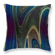1501 Abstract Thought Throw Pillow