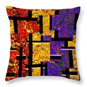1517 Abstract Thought Throw Pillow