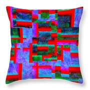 1520 Abstract Thought Throw Pillow
