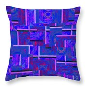 1527 Abstract Thought Throw Pillow