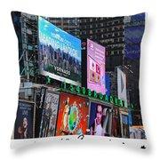 1540 Broadway Throw Pillow