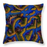 1541 Abstract Thought Throw Pillow