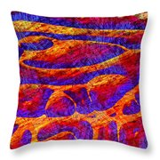 1545 Abstract Thought Throw Pillow