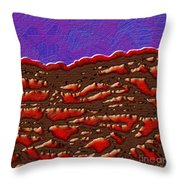 1551 Abstract Thought Throw Pillow
