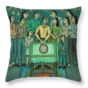 15th Of March Throw Pillow