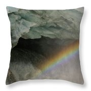 Climate Change In Greenland Throw Pillow