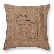 Edfu Throw Pillow