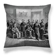 Lee's Surrender, 1865 Throw Pillow