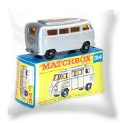 Matchbox 1-75 Throw Pillow