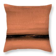 Our Oceans  The Continental Dividers Throw Pillow
