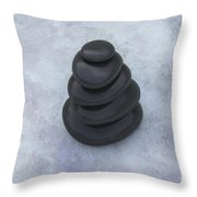 Stone Therapy Throw Pillow