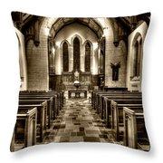 Westminster Presbyterian Church Throw Pillow