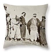 Wwi Refugees, 1919 Throw Pillow