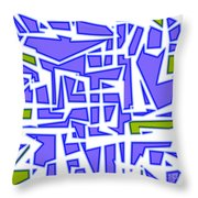 1623 Abstract Thought Throw Pillow