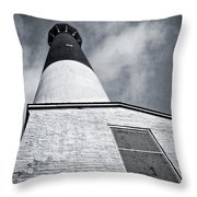 163 Feet Into The Clouds Throw Pillow