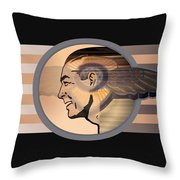 16x20 Mercury Black Throw Pillow