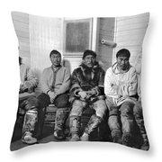 Alaska Eskimos Throw Pillow