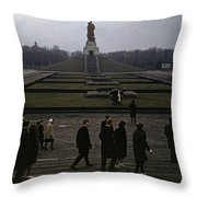 Berlin 1961 Throw Pillow