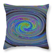 Digital Art Abstract Throw Pillow