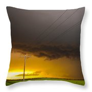 Excellent Severe T-boomers South Central Nebraska Throw Pillow