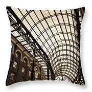 Hay's Galleria London Throw Pillow